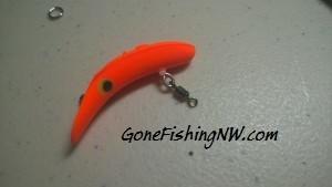 Flatfish with swivel
