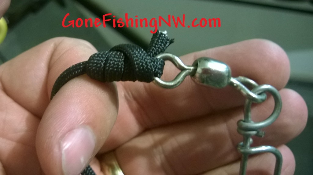 Paracord to Snap knot