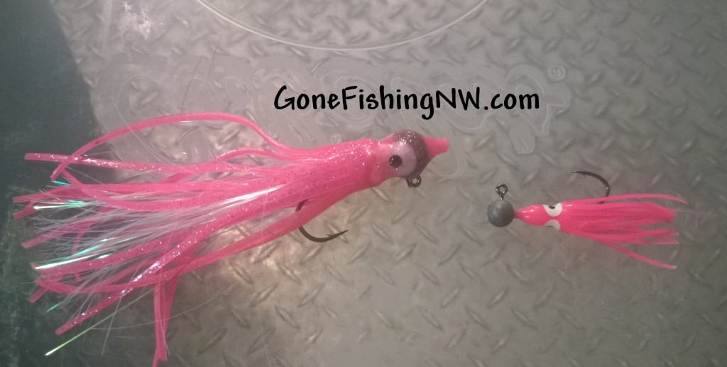 Making Pink Salmon Hoochie Jigs