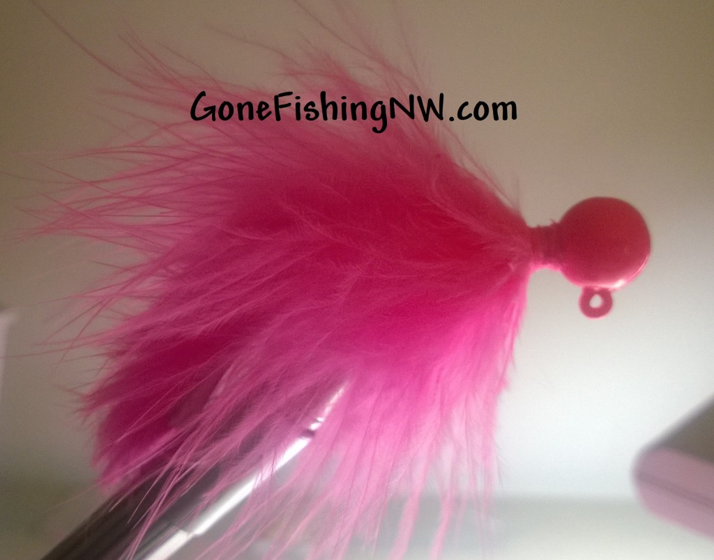 Pink Salmon Bunny Jig Typing - Part 3
