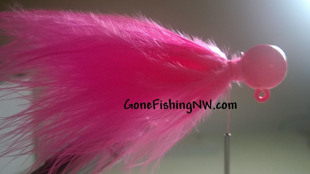 Pink Salmon Jig Tying - Part 11