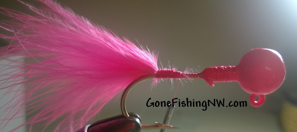 Pink Salmon Jig Tying - Part 8