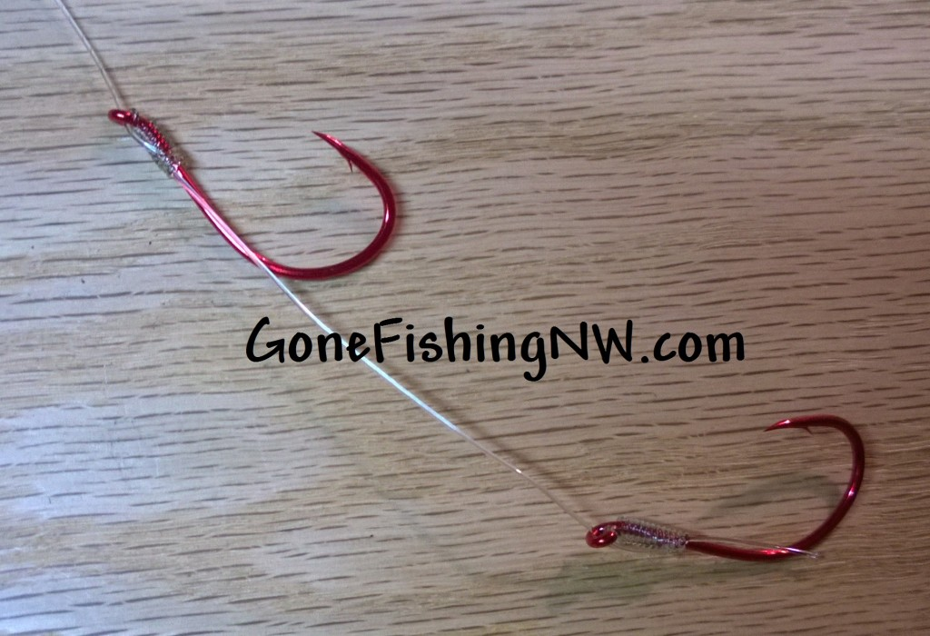 Rigging Coho Hoochie And Ace High Fly - Part 2