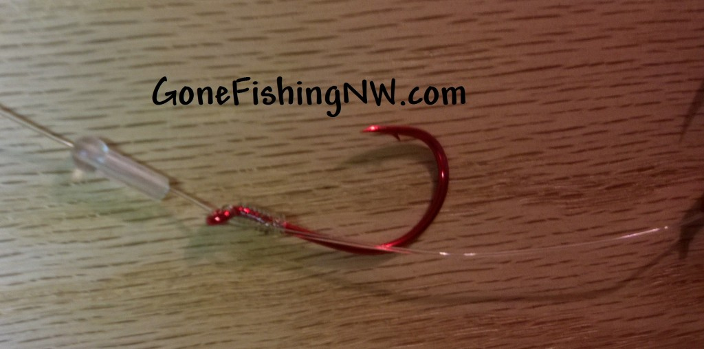 Rigging Coho Hoochie And Ace High Fly - Part 3