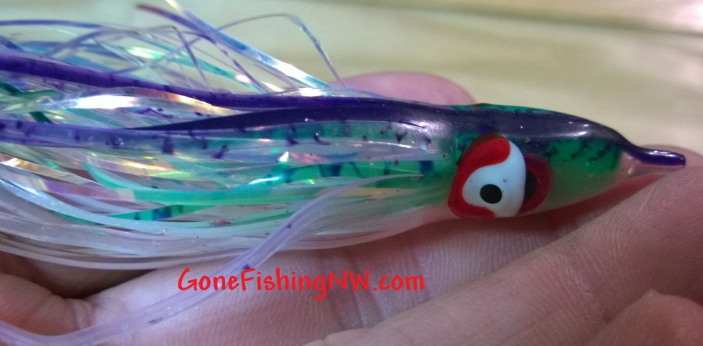 Rigging Coho Hoochie And Ace High Fly - Part 5