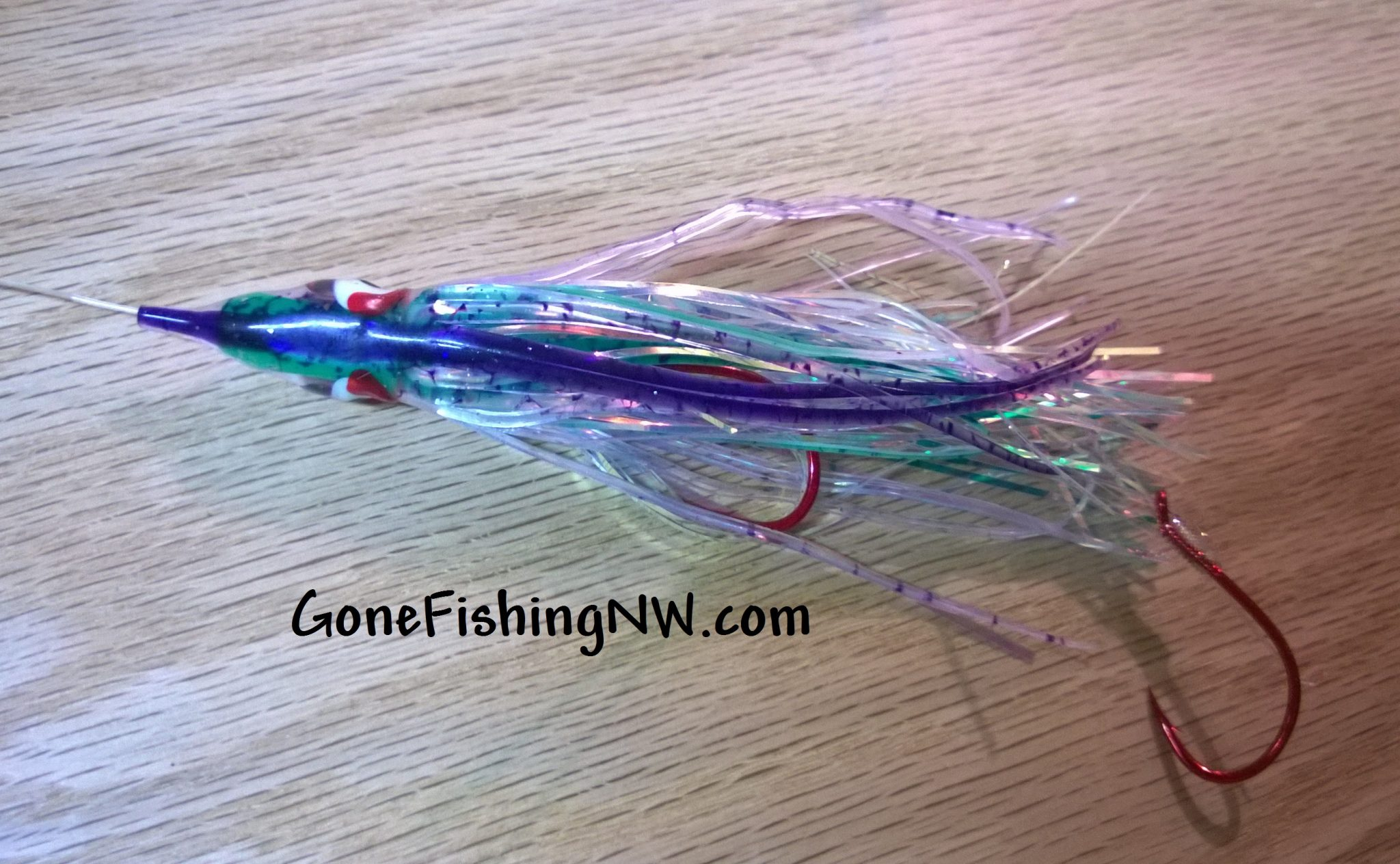 Rigging a Hoochie and Ace High Fly Combo – Gone Fishing