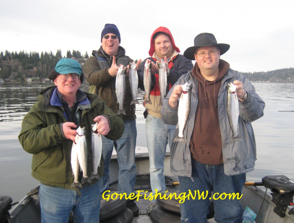 Winter Cutthroat from Lake Sammamish