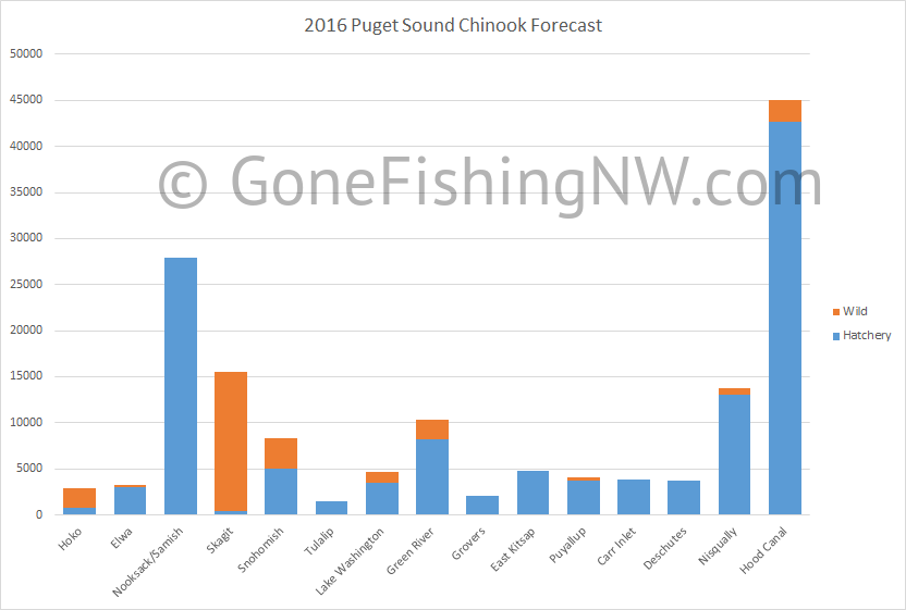 2016 Puget Sound Chinook Forecast