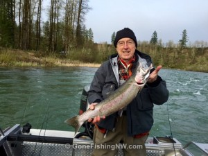 Bonked Cowlitz Hatchery Steelhead