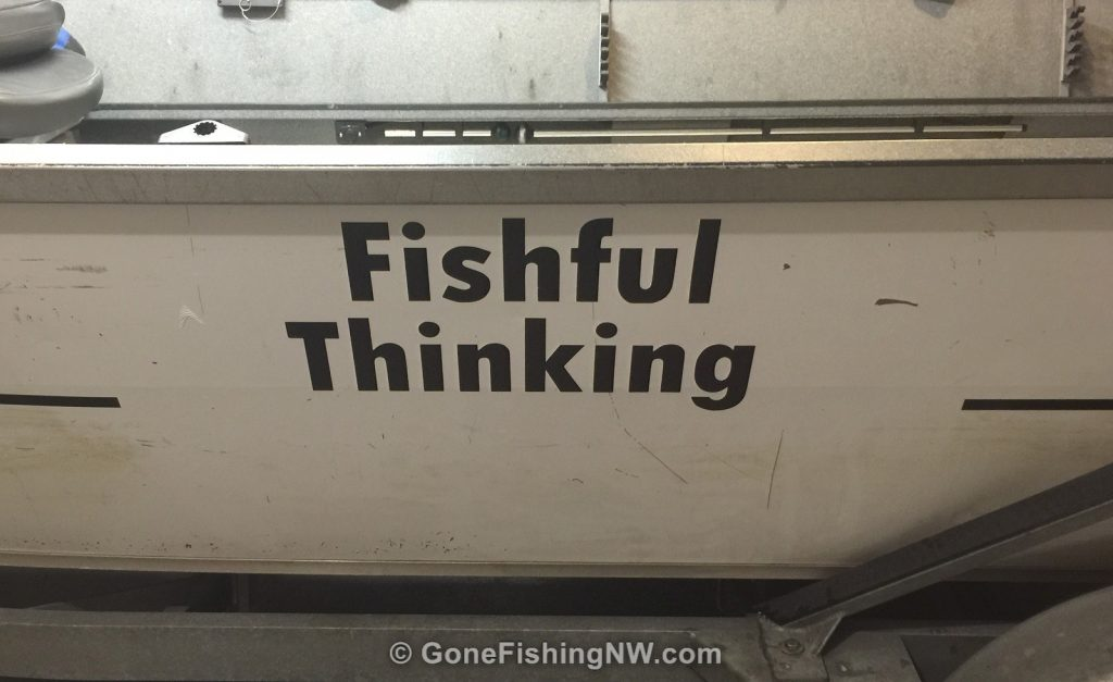Boat Lettering - Fishful Thinking
