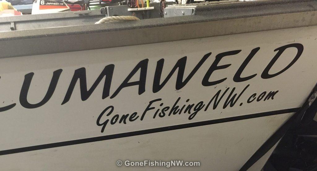 Boat Lettering - GoneFishingNW