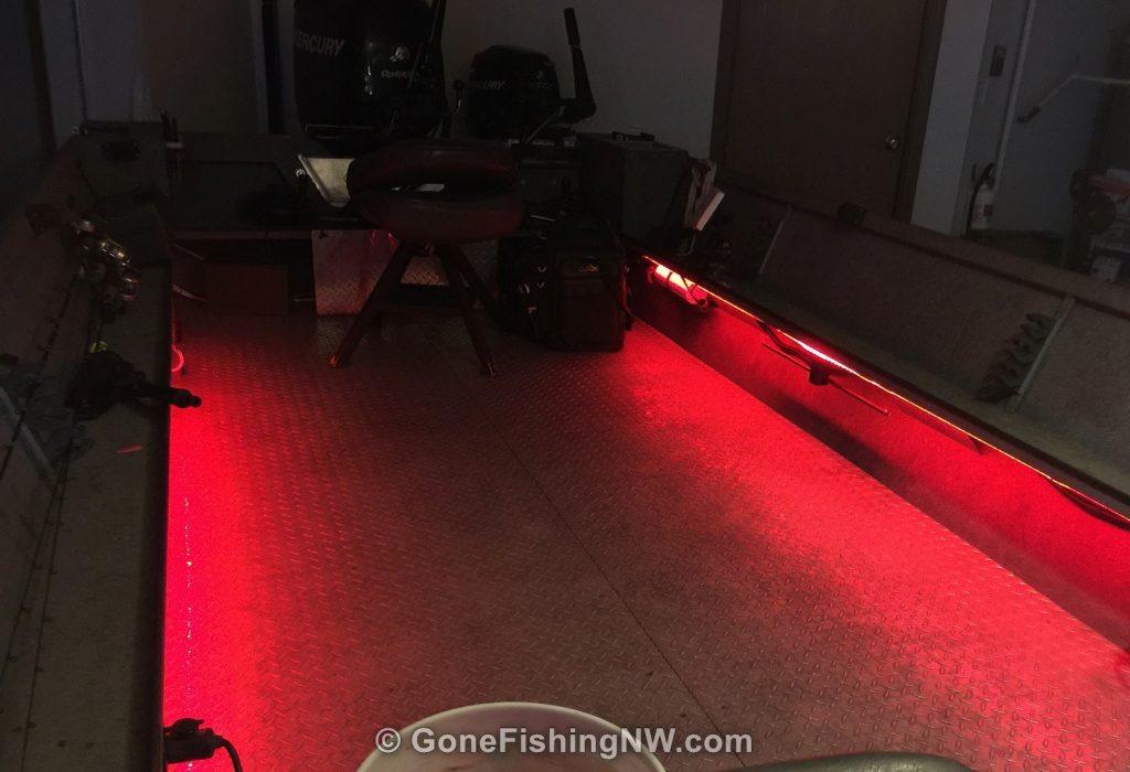 Interior Boat Lights - Installed
