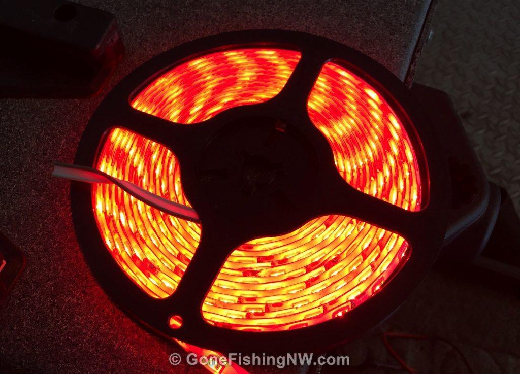 Interior Boat Lights - Lit Spool